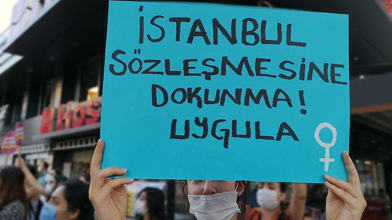 İstanbul Sözleşmesi'nden çekilmeyi kabul etmiyoruz